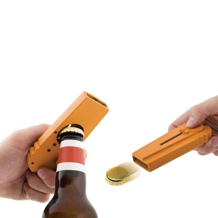 CAP Zappa - Flaschenöffner mit Kronkorken-Schleuder