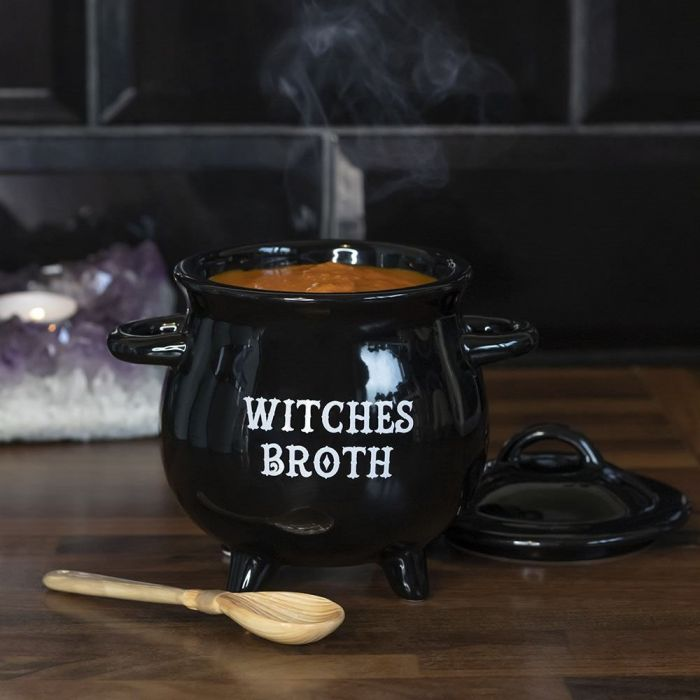 Hexenkessel Mini Suppentopf mit Löffel