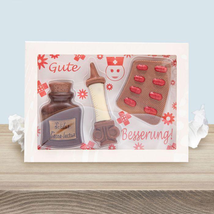 Gute Besserung Schokolade-Set