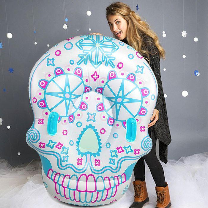 Sugar Skull Snow Tube