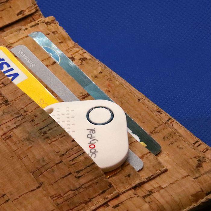 SpotyPal Tracker mit Bluetooth und GPS