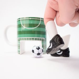 Fußball Kaffeebecher