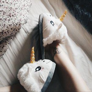 Einhorn Hausschuhe