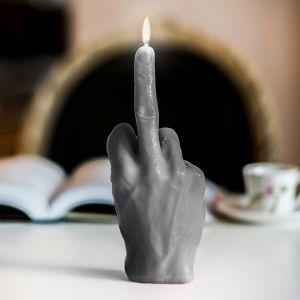 Stinkefinger Kerze