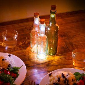 LED Flaschenlichter mit USB