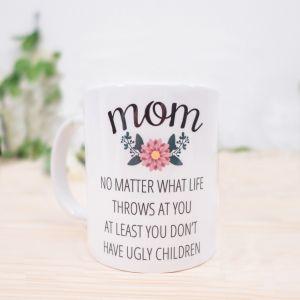 Mom - Personalisierbare Tasse