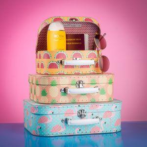 Tropisches Kofferset