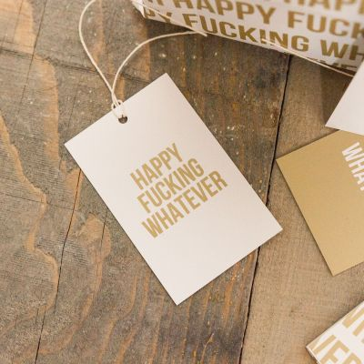 Geburtstagsgeschenk für Freund - Grenzwertiges Geschenkpapier