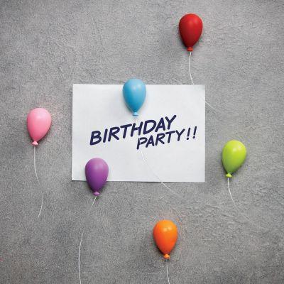 Geburtstagsgeschenk für Mama - Ballon Magnete
