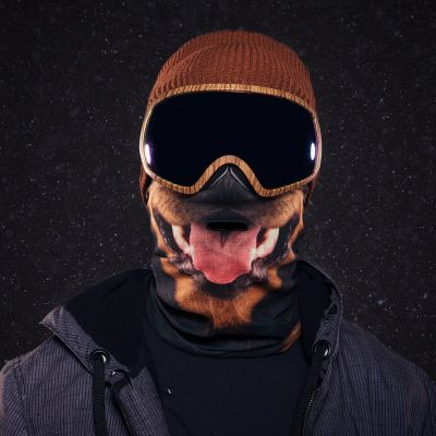 Winter & Schnee Gadgets - Beardo Skimasken