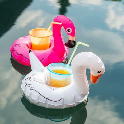 Outdoor - Schwimmende Getränkehalter Vögel 3er-Set