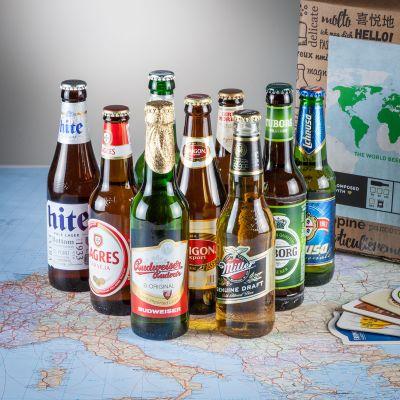 Geschenk für Freund - Bier Weltreise Geschenkbox