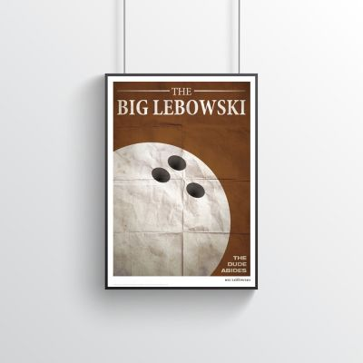 Geburtstagsgeschenk zum 30. - The Big Lebowski - Filmzitate Poster