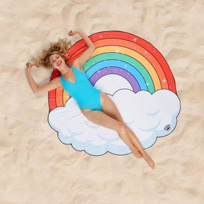 Badezimmer - Regenbogen Strandtuch
