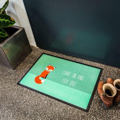 Geschenk für Paare - Fuchs Fußmatte