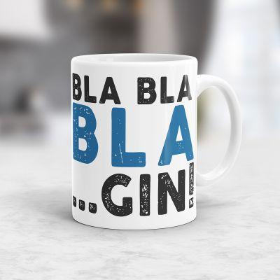 Geburtstagsgeschenk zum 30. - Personalisierbare Bla Bla-Tasse