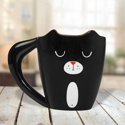 Kaffee und Tee - Black Cat Tasse