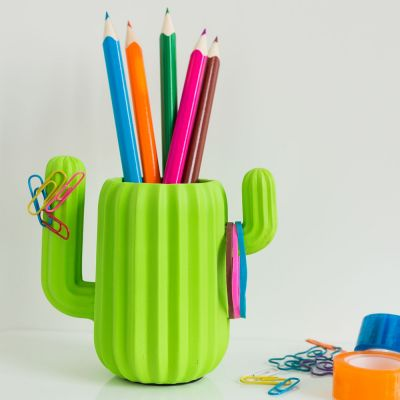 Spass im Büro - Kaktus Schreibtisch Organizer