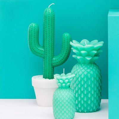 Muttertagsgeschenke - Kaktus-Kerze
