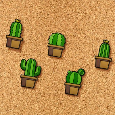Adventskalender füllen - Kaktus Pinn-Nadeln