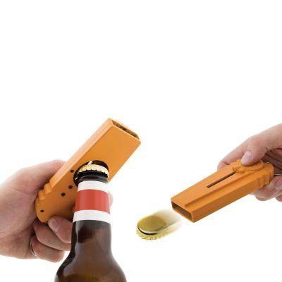 An der Bar - CAP Zappa - Flaschenöffner mit Kronkorken-Schleuder