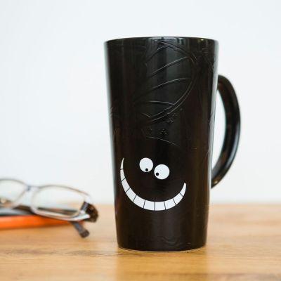 Abschiedsgeschenk - Wärmeempfindlicher Grinsekatze Kaffeebecher