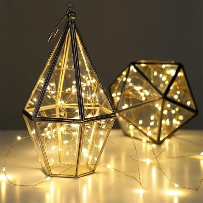 Romantische Geschenke - Lichterkette aus Kupfer