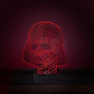 Vatertagsgeschenke - Star Wars Darth Vader Leuchte mit 3D Effekt