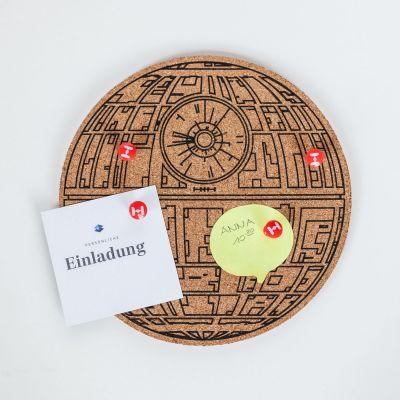 Spass im Büro - Star Wars Todesstern Pinboard