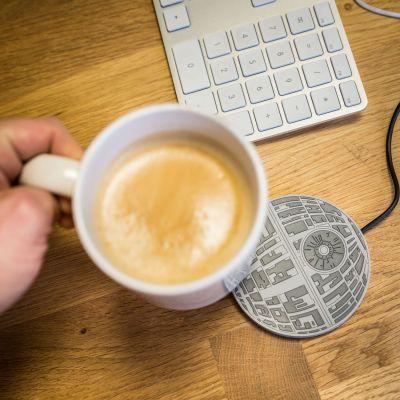 Spass im Büro - Star Wars Todesstern Tassenwärmer mit USB