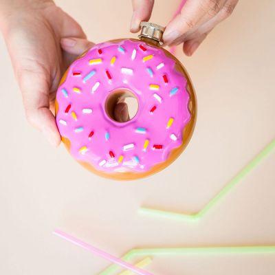 An der Bar - Donut Flachmann