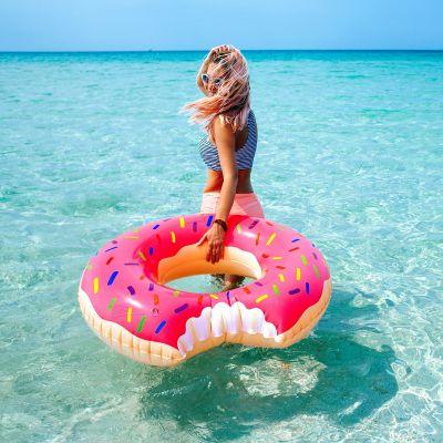 Geschenkefinder - Riesen Donut Schwimmreifen