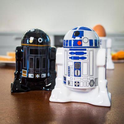 Film & Serien - Star Wars R2D2 & R2Q5 Salz- und Pfefferstreuer