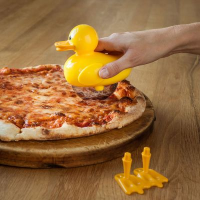 Geburtstagsgeschenk zum 30. - Ducky Pizzaschneider