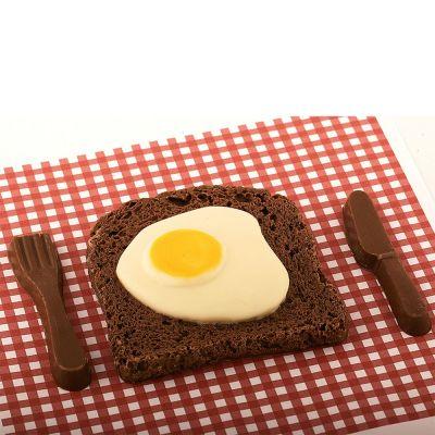 Essen & Trinken - Bacon & Egg aus Schokolade