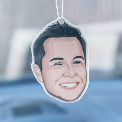 Witzige Geschenke - Elon Musk Lufterfrischer fürs Auto