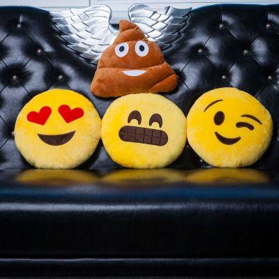 Geburtstagsgeschenk für Mama - Emoji Kissen
