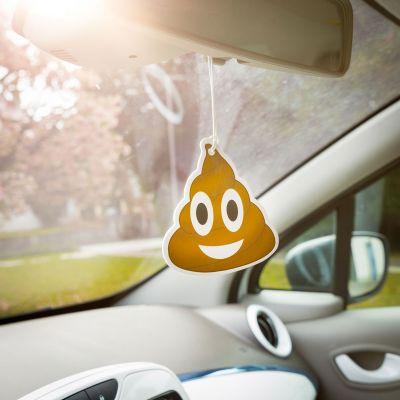 Witzige Geschenke - Emoji Poop - Lufterfrischer fürs Auto