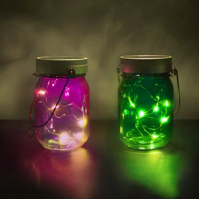 Halloween - Fairy Jars 2er-Set