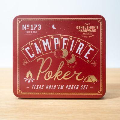 NEUES - Lagerfeuer Poker-Set