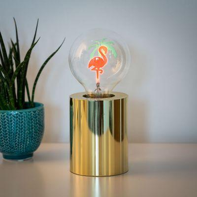 Beleuchtung - Flamingo Glühbirne