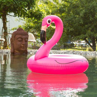 Geburtstagsgeschenk zum 20. - Pink Flamingo Schwimmreifen