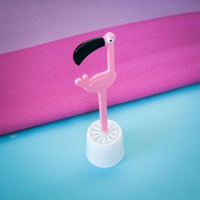 Geburtstagsgeschenk zum 30. - WC-Bürste Flamingo