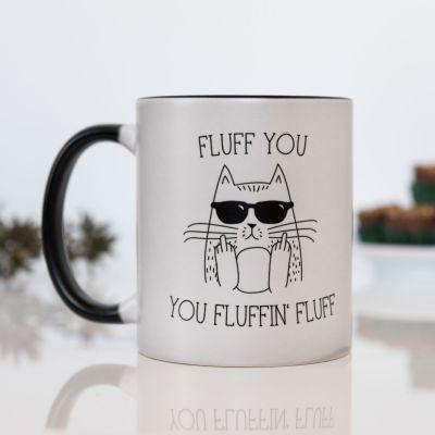 Geschenke für Bruder - Fluff You Temperaturempfindliche Tasse