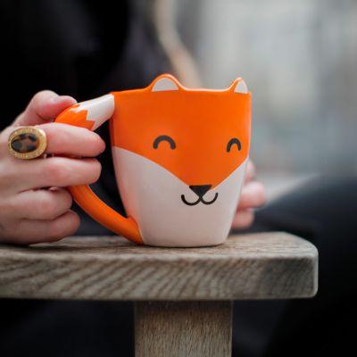 Geschenk zum Abschluss - Fuchs Tasse