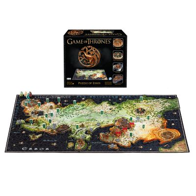Spiel & Spass - Game of Thrones 3D Puzzle Essos