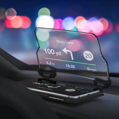 Reise Gadgets - Hudway Head Up Display für Smartphones