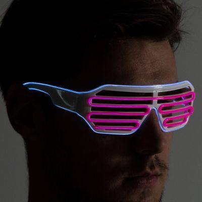 Geburtstagsgeschenk für Freund - Brille mit farbigen LEDs