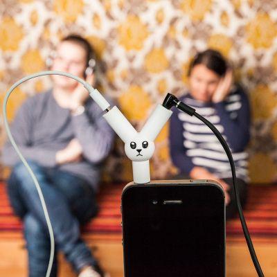 Gadgets - Jack Rabbit Kopfhörer Splitter