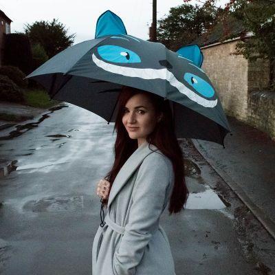 Abschiedsgeschenk - Katzen Regenschirm